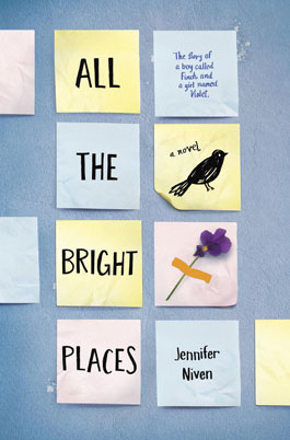 Image: All The Bright Places Book Cover