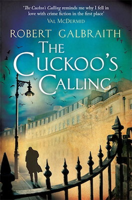 book cover of The Cuckoo's Calling