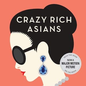book cover of Crazy Rich Asians