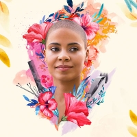 Poster image of Nappily Ever After. A black woman with a shaved head surrounded by flowers and hair sheers.